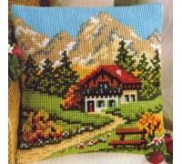 Swiss Chalet Chunky Cross stitch - 1200/671