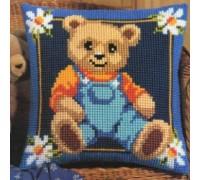 Happy Teddy Chunky Cross Stitch - 1200/683