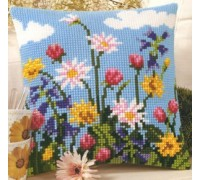 Tulips and Marigolds Chunky Cross Stitch - 1200/709