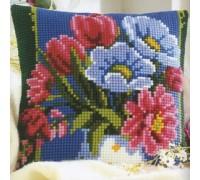 Vase of Flowers Chunky Cross Stitch - 1200\979