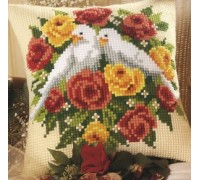 White Doves Chunky Cross Stitch - 1200/737