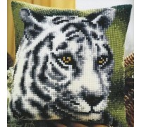 White Tiger Chunky Cross Stitch - 1200\948