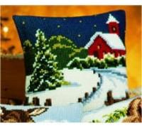 Winter Scene Chunky Cross Stitch - 1200/660