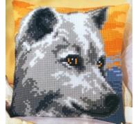 Wolf Chunky Cross Stitch - 1200/715