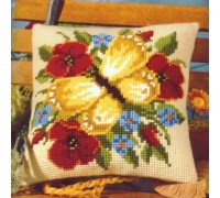 Yellow Butterfly Chunky Cross Stitch - 1200/643