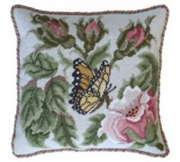 Rose Garden Butterfly in Pastel