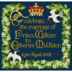 Royal Wedding Samplers by Beth Russell