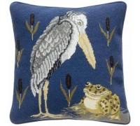 William de Morgan Frog and Stork Tapestry