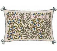 William Morris Love Is Enough Sampler