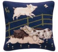 William de Morgan Pigs Tapestry