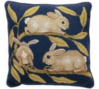 William de Morgan Rabbits Tapestry