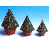 All Three Christmas Trees