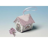 Parma Violets Gingerbread House