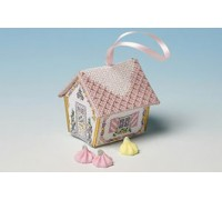 Sugared Almonds Gingerbread House