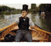 Boating Party by Caillebotte - Chart or Kit