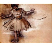 Dancer by Degas - Chart or Kit
