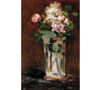 Flowers in a Crystal Vase II - Chart or Kit