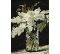 Lilacs in a Vase - Chart or Kit
