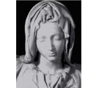 Pieta Madonna - Chart or Kit