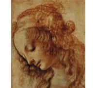 Portrait of a Woman by Da Vinci - Chart or Kit