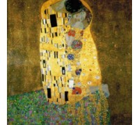 The Kiss by Klimt - Chart or Kit