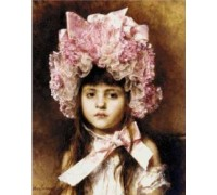 The Pink Bonnet - Chart or Kit