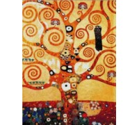 Tree of Life by Klimt - Chart or Kit