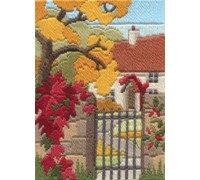 Autumn Garden Long Stitch - MLS19