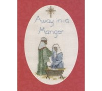 Away in a Manger Christmas Card Kit - CDX21 - 16ct