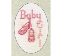 Baby Girl Card - CDG18
