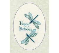 Dragonfly Birthday Card - CDG11