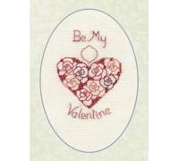 Ruby Wedding or Valentine Card - CDG15