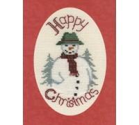 Snowman Christmas Card - CDX24 - 16ct
