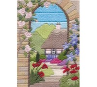 Summer Garden Long Stitch - MLS18