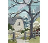 Winter Garden Long Stitch - MLS20