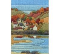 Coastal Autumn Long Stitch Kit - MLS7