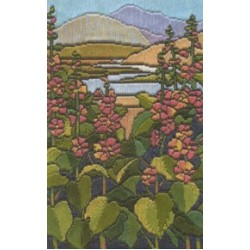 Tiffany Stained Glass Long Stitch