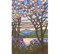 Magnolia Lake Long Stitch Kit - SGW02