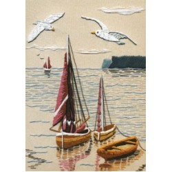 Derwentwater Surface Embroidery