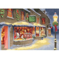 Christmas Toy Shop by John Clayton