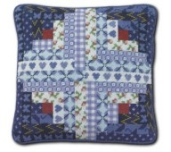 Patchwork Cushions by One Off Needlework