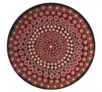 Millefiori Black Round Cushion - CZM