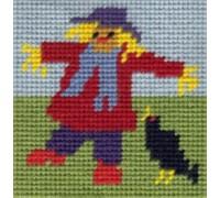 Mini Scarecrow Tapestry - MS