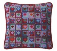 Mosaic Hearts Tapestry - CMH