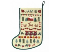 Christmas Stockings by One Off Needlework
