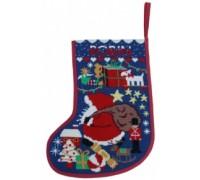 Starry Christmas Stocking - Midnight - SSM