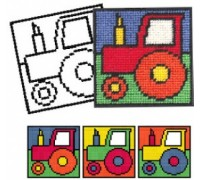 Tractor Tapestry Tapestry for Children - CIT