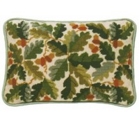 Acorns Lumbar Tapestry Cushion - OCA
