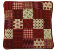 Red Patchwork Tapestry - CRP