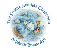 The Solent Needles Collection by Wendy Brown Art